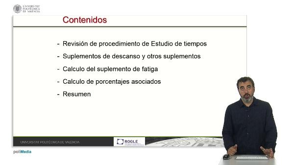 CÁLCULO DEL SUPLEMENTO DE FATIGA PARA LA DEFINICIÓN DE ESTÁNDARES DE TRABAJO