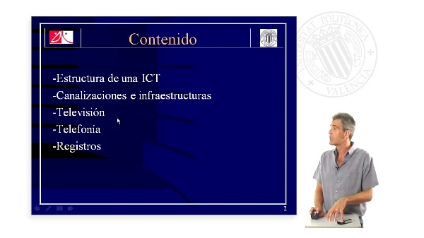 Estructura de una ICT (Infraestructura Común de Telecomunicaciones)