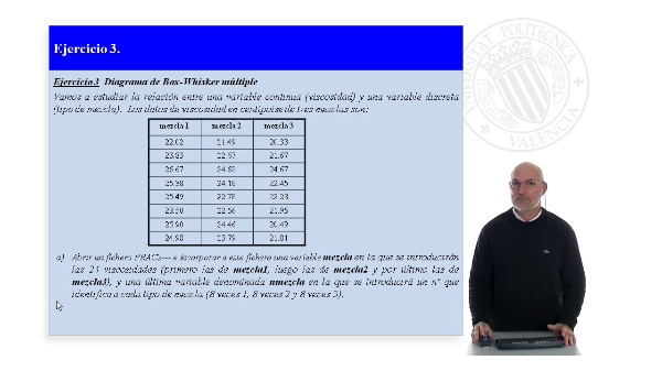 Practica 2. Statgraphics Ejercicio 3