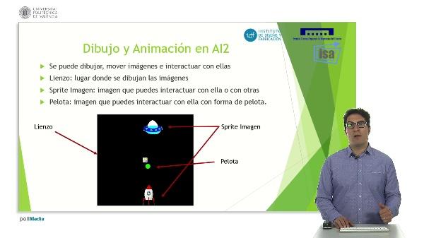 DYOR: Componentes de Dibujo y Animación en AI2
