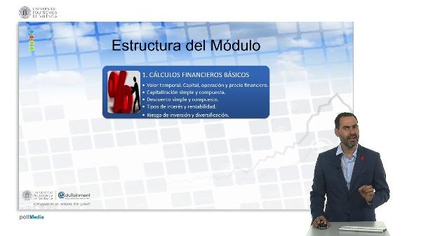 Módulo: Competencia financiera en el mercado inmobiliario. Contextualización.