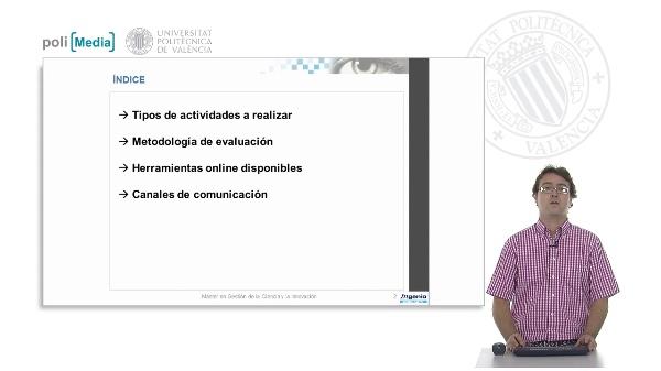 Presentación Coordinación Máster en Gestión de la Ciencia y la Innovación (2012)