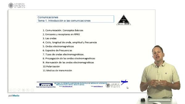 Master RPAS. Comunicaciones. Introducción al tema 1