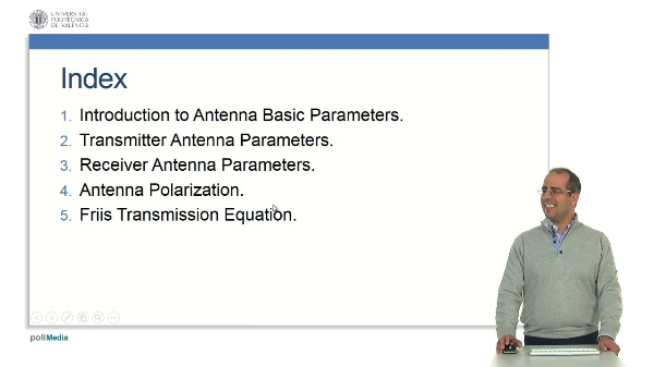 Presentation - MOOC ON ANTENNA BASIC PARAMETERS.