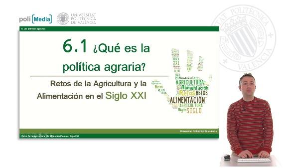 ¿Qué es la política agraria?