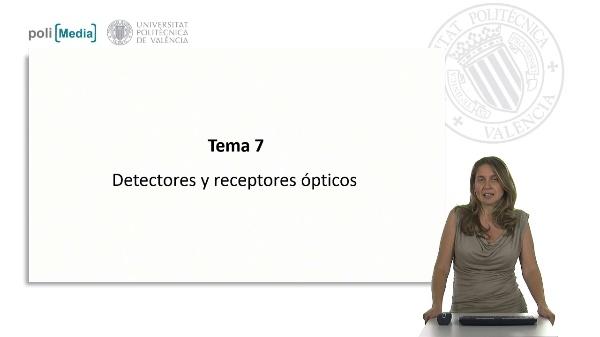 Detectores y receptores ópticos