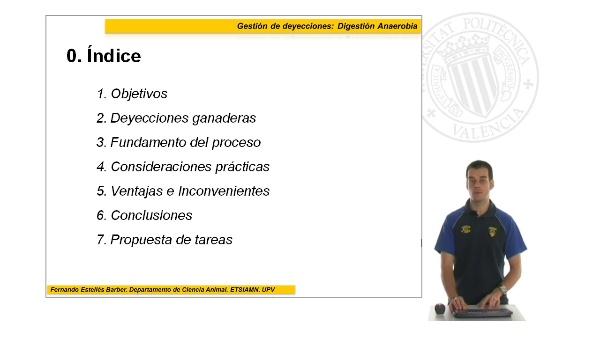 Gestión de deyecciones: Digestión Anaeróbica