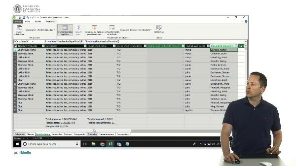 Excel. Tablas dinámicas, filtro alfabético para slicer (segmentación de datos)