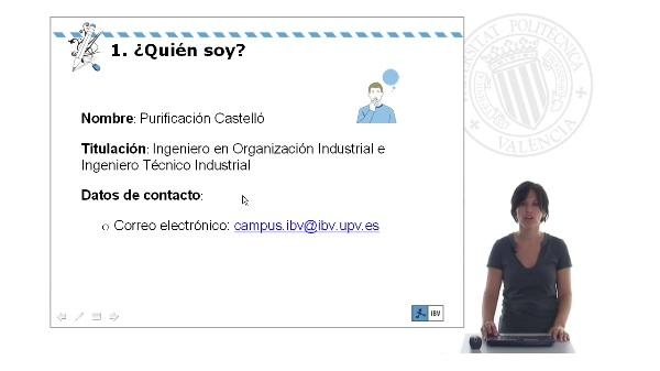 Profesora Purificación Castelló