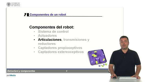 Robotica: componentes - Articulaciones