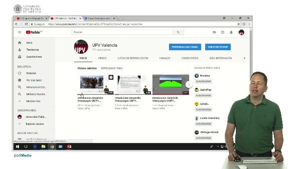 Youtube. Introducción a nuestro canal