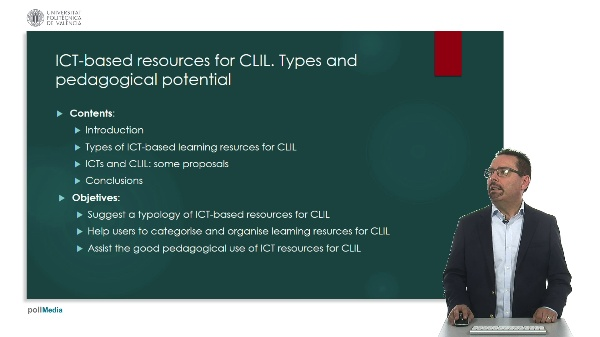 ICT-based resources for CLIL. Types and pedagogical potential.