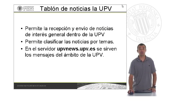 Tablón de noticias UPVNET