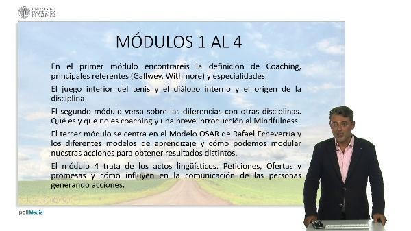 Coaching: Módulos 1 a 4