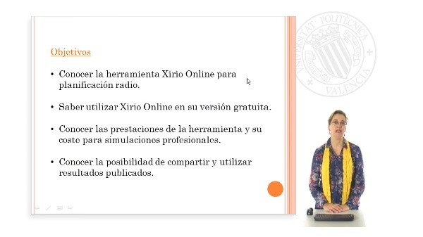 Uso de la herramienta Xirio Online.