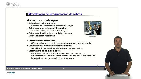 RMIs - metodología de programación de robots
