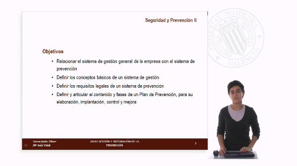 UD 2: Gestión e Integración de Prevención