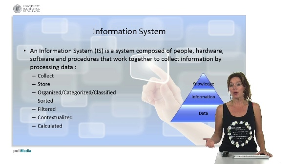 Basic concepts: information systems