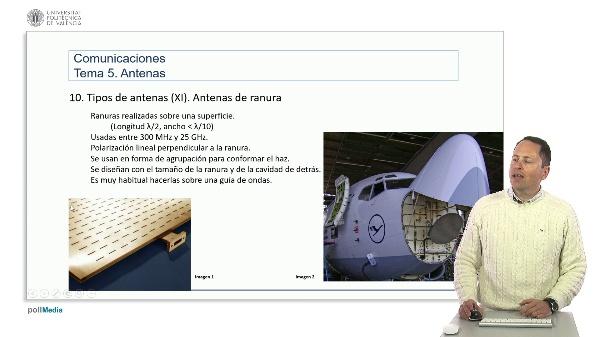 Introducción a las radiocomunicaciones. Antenas de ranura