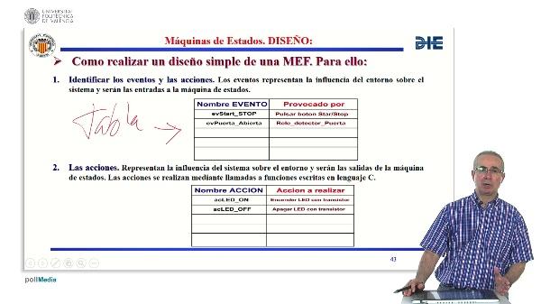 Curso de ingeniería del software para sistemas embebidos. Modulo 11. Parte 5. Máquinas de estado finita.