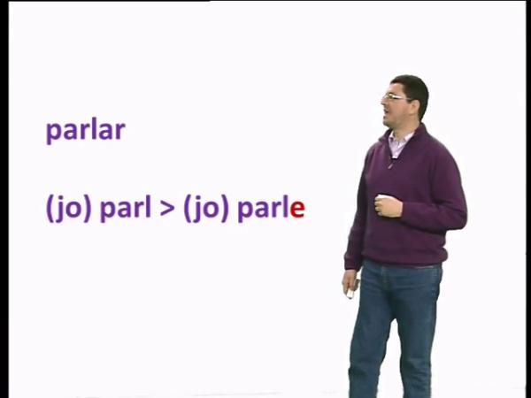 Els dialectes geogràfics i un tret morfosintàctic: la 1a pers. sing del pres. ind.