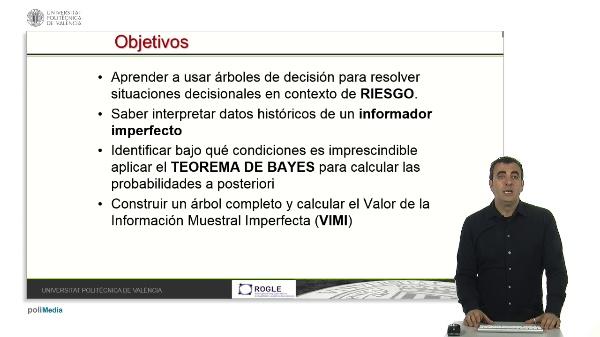 Información muestral imperfecta y Teorema de Bayes