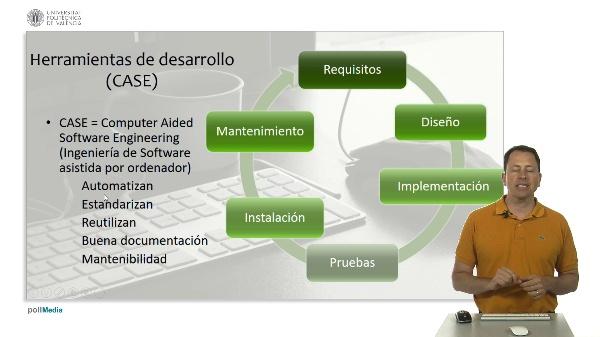 Sistemas y desarrollo del software. Herramientas desarrollo software