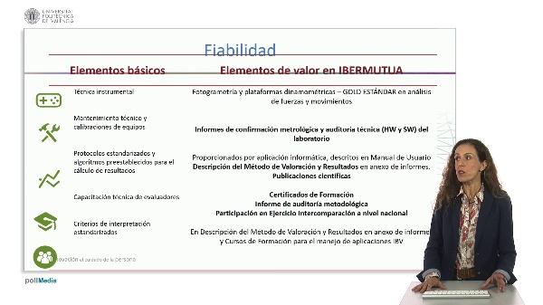 Requisitos de las pruebas de valoración biomecánica y elementos de valor
