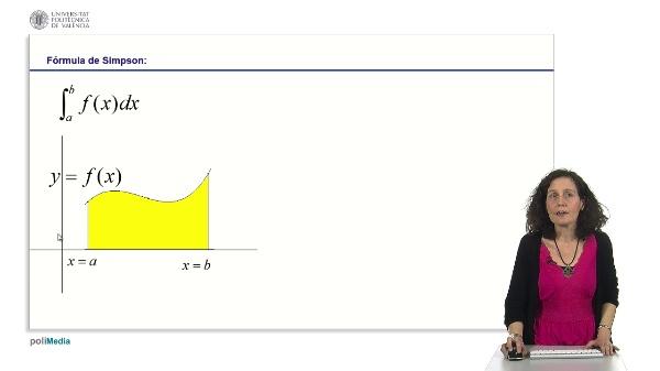 Integración aproximada. Resolución de integrales utilizando el método de Simpson