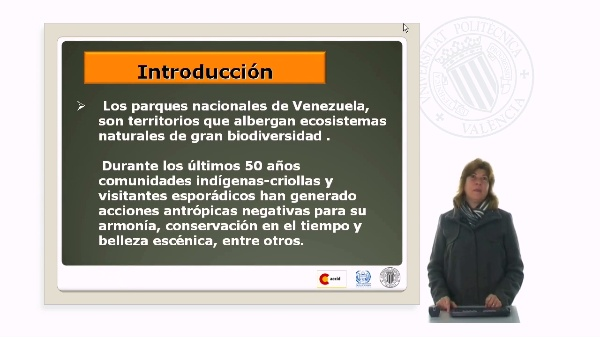 Principales problemas detectados en los Parques Nacionales de Venezuela