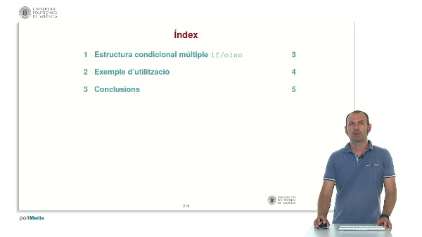 Llenguatge C: Estructura condicional múltiple if/else