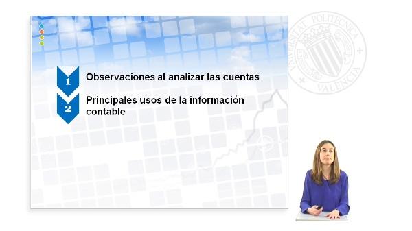 PRINCIPALES USOS DE LA INFORMACION CONTABLE