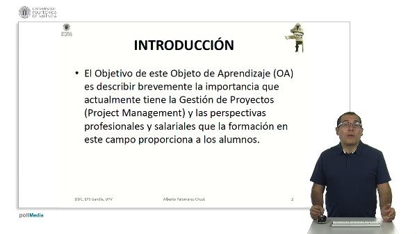 Importancia de la información en gestión de proyectos.