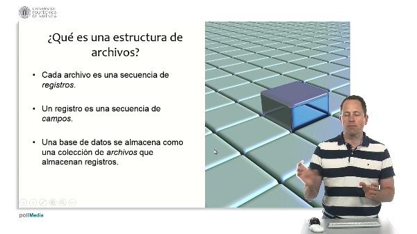 Estructuras de archivos para bases de datos