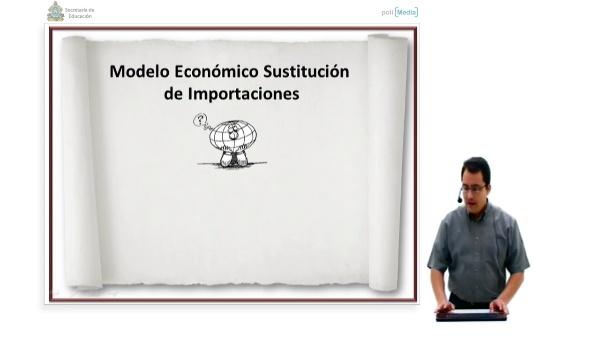 Modelo económico, sustitución de importaciones