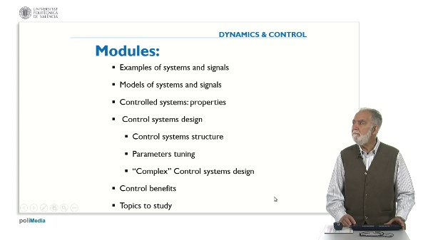 Control Systems Design: Complex Control system
