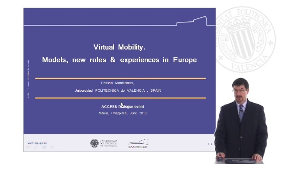 Virtual Mobility: Models, Roles and Experiencies in Europe (I)