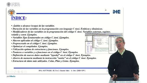 Curso de ingeniería del software para sistemas embebidos. Módulo 4 parte 1. Lenguaje C avanzado.