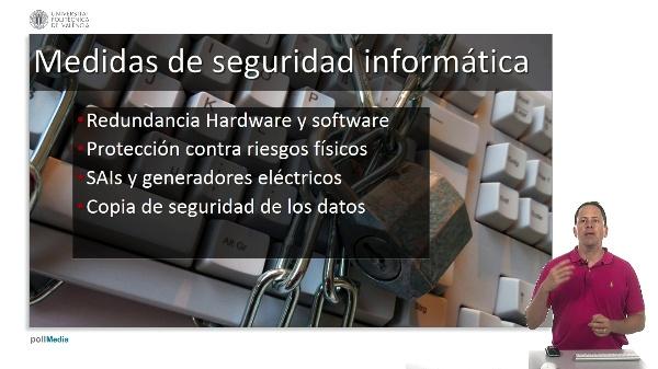 Medidas de seguridad informática. Medidas físicas