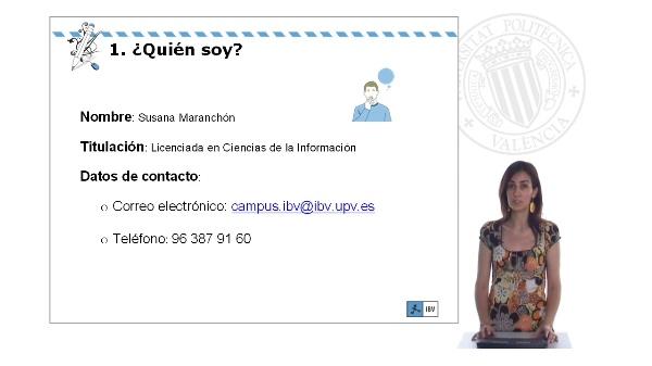 Dinamizadora Susana: Introducción y datos de contacto