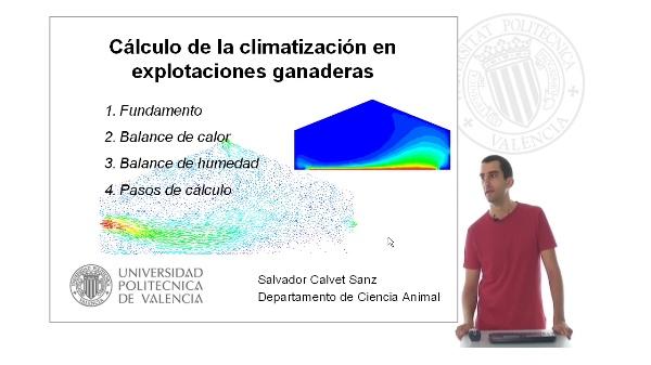Cálculo de la climatización en explotaciones ganaderas