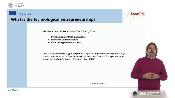 Active People: Entrepreneurial scientists