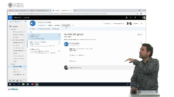 Salir de un grupo de Office 365