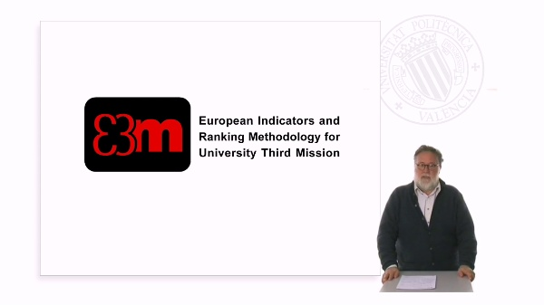 European Indicators and Ranking Methodology fo University Third Mission