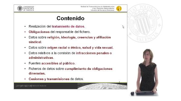 Tema 4. El tratamiento de los datos personales
