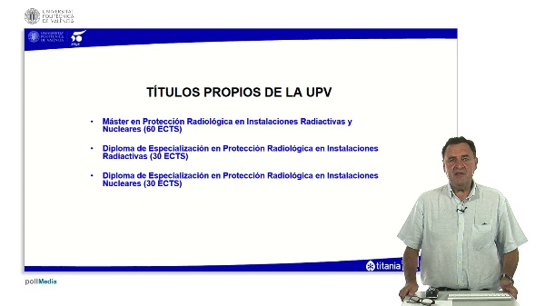 Presentación Máster en Protección Radiológica (Edición 2018/2019)