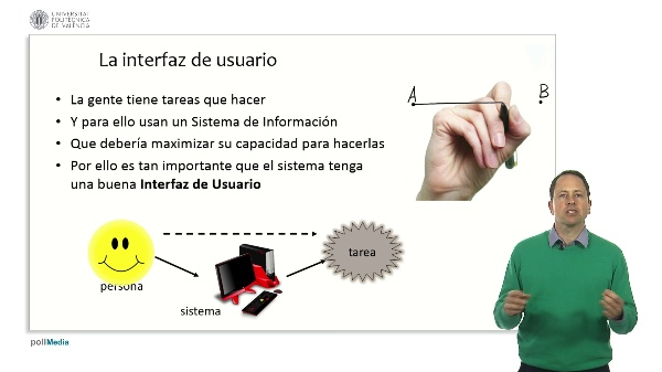 Proceso de datos e interfaz de usuario. Usabilidad