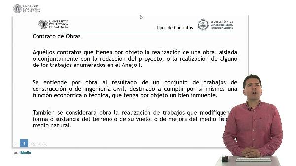 Ley de Contratos del Sector Público. Tipos de Contratos