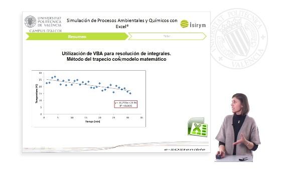 Resumen Unidad 5. Simulación de Procesos Ambientales y Químicos con Excel¿