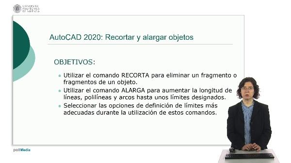 AutoCAD 2020: Recortar y alargar objetos